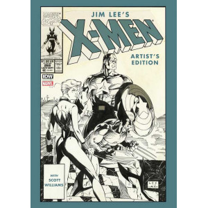 JIM LEES X-MEN ARTIST EDITION HARDCOVER