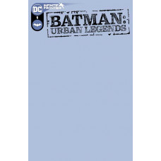 BATMAN URBAN LEGENDS #1 COVER D BLANK VARIANT