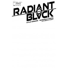 RADIANT BLACK #1 COVER C BLANK