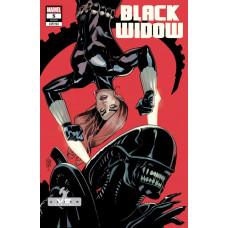 BLACK WIDOW #5 DODSON MARVEL VS ALIEN VARIANT