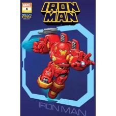 IRON MAN #6 BROWN AVENGER MECH STRIKE VARIANT