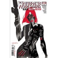 WOLVERINE BLACK WHITE BLOOD #4 (OF 4)