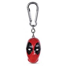 Deadpool Head 3D Keychain