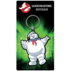 Ghostbusters Mr Stay Puft Rubber Keychain