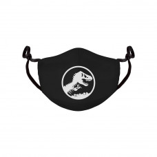 Jurassic Park Face Mask Logo