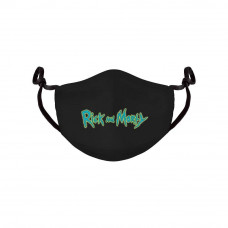 Rick and Morty Face Mask Logo