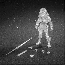 Predator 2: Invisible City Hunter Predator 1:18 Scale 4 Inch Action Figure