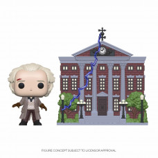 Back to the Future - Doc with Clock Tower - Funko POP! Town Vinyl Figure