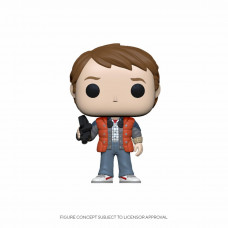Back to the Future - Marty in Puffy Vest Body Warmer Gilet - Funko POP! Vinyl Figure
