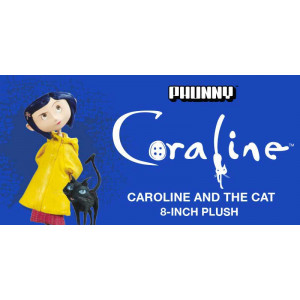 Coraline and the Cat - Phunny Plush Figure 20 cm