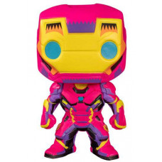Iron Man Marvel Black Light Vinyl Figure