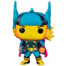 Thor Marvel Black Light Vinyl Figure