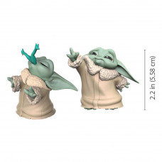 Star Wars - Mandalorian Bounty Collection Figure 2-Pack - The Child - Froggy Snack & Force Moment