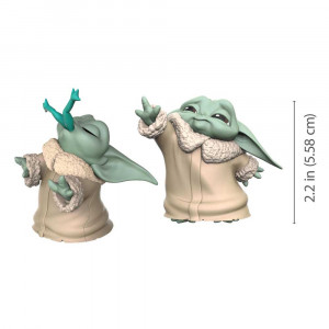 Star Wars - Mandalorian Bounty Collection Figure 2-Pack - The Child - Baby Yoda - Froggy Snack & Force Moment