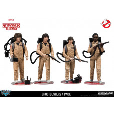 Stranger Things Ghostbusters Deluxe Box 4 Pack