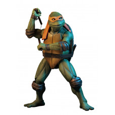 Teenage Mutant Ninja Turtles - Michelangelo - (1990 Movie) – 1/4 Scale Action Figure
