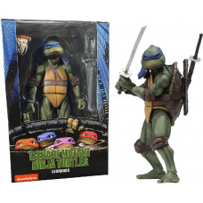 "Teenage Mutant Ninja Turtles 7"" Figure 1990 Movie Leonardo"