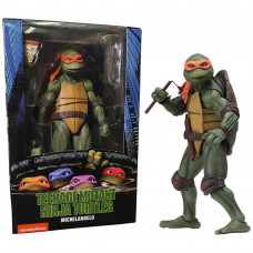 "Teenage Mutant Ninja Turtles 7"" Figure 1990 Movie Michelangelo"