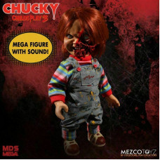 """Child's Play 3 Pizza Face Chucky 15"""" Talking Doll"""