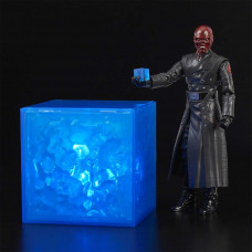 Red Skull 6 inch Figure and Light-up Tesseract Cosmic Cube Set
